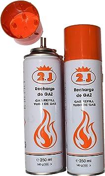 2J Juego de 2 recambios para encendedores de gas, antorcha de ...