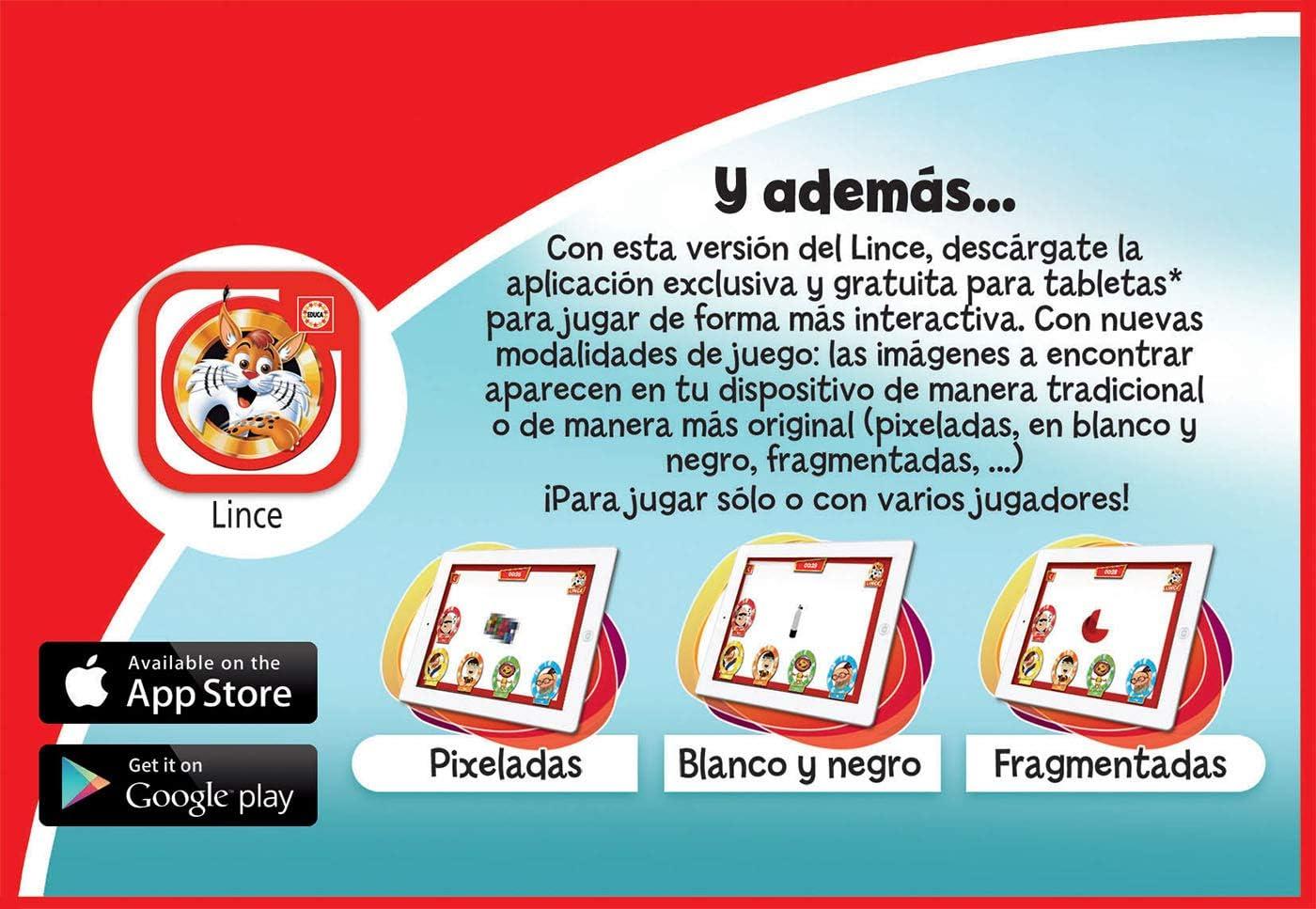 Educa Borrás Lince Edición Disney, 70 imágenes (16585): Amazon.es ...
