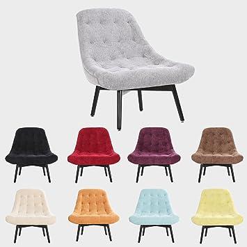 Pro Designer Accent Geschwungene Stoff Leinen Tub Stuhl Sessel Für  Wohnzimmer Esszimmer Empfang Grau