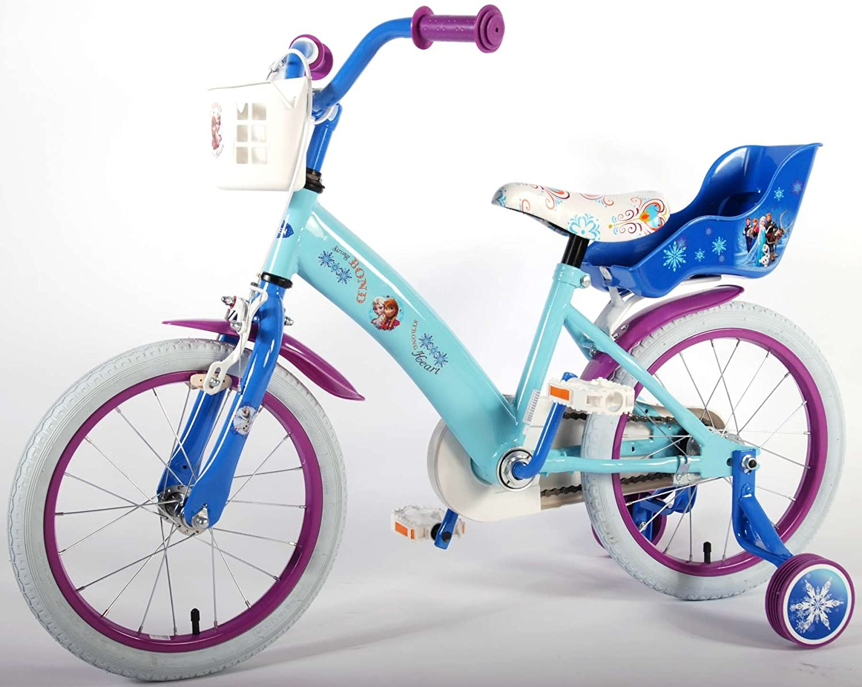 Bicicleta Niña Disney Frozen 16 Pulgadas Ruedas Extraíbles la ...