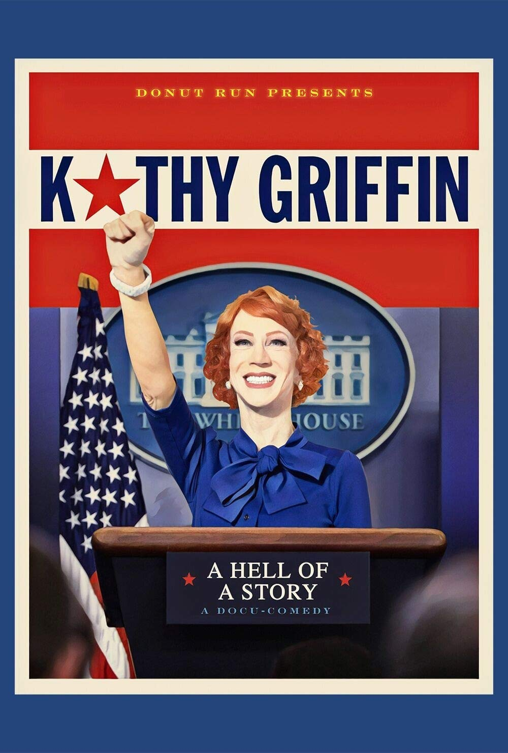 Cover Art for Kathy Griffin: A Hell of a Story