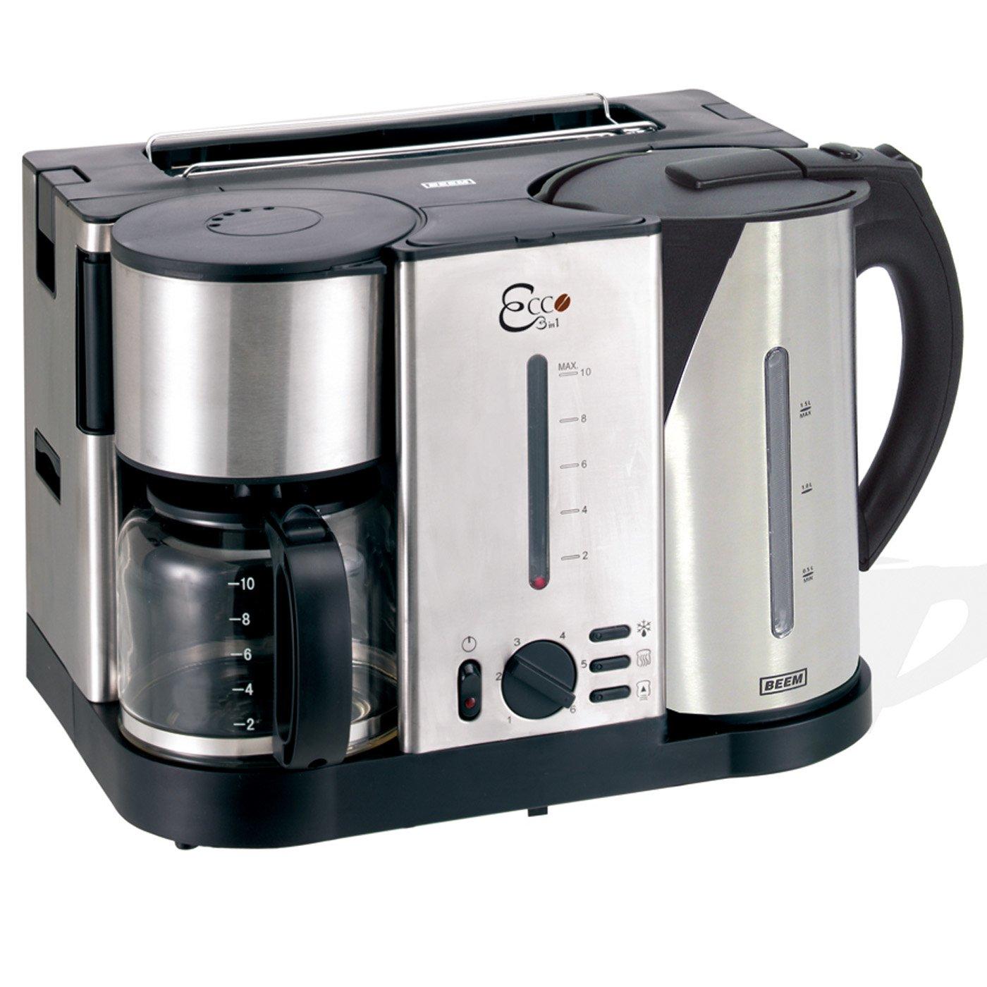 Beem 3 In 1 Ecco Stainless Steel Breakfast Machine, 15 Litre, 3750