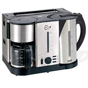 3 in 1 kaffeemaschine wasserkocher toaster