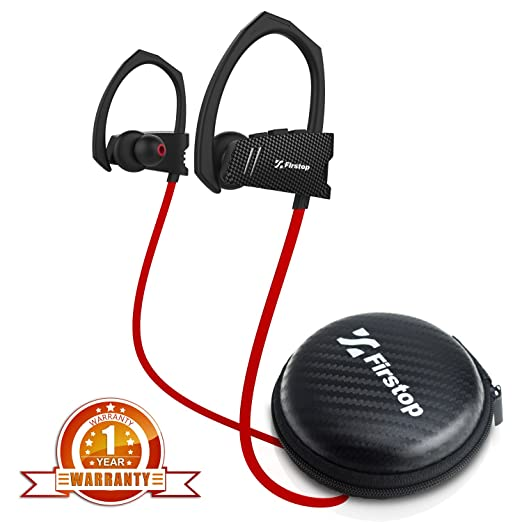 1 opinioni per Firstop, cuffie sportive Bluetooth Q9