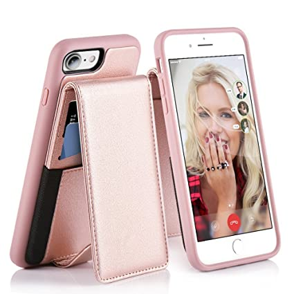 iphone 8 case with stand and card holder