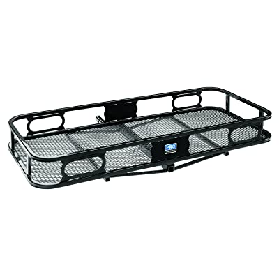 "Pro Series 63155 Rambler Hitch Cargo Carrier for 1-1/4"" Receivers, Black: Automotive"