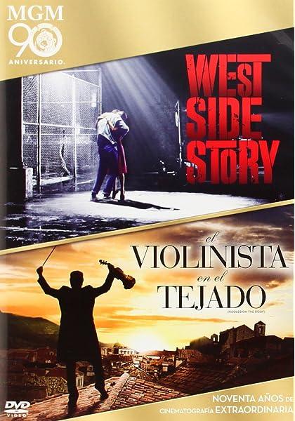 West Side Story/ Violinista En El Tejad [DVD]: Amazon.es: Natalie Wood, Richard Beymer, Russ Tamblyn, Robert Wise, Norman Jewison, Natalie Wood, Richard Beymer, Robert Wise, Norman Jewison: Cine y Series TV