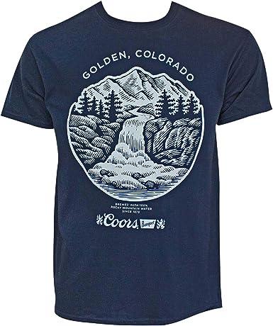 Coors Camiseta de manga larga de oro de Colorado los hombres de grande: Amazon.es: Ropa y accesorios