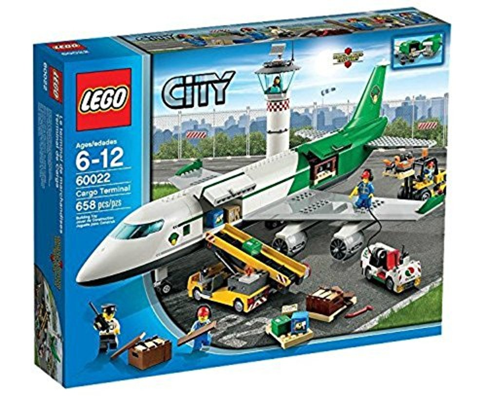 LEGO City 60022 Cargo Terminal Toy Building Set Discontinued by manufacturer 6024978