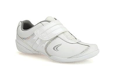 c5605658b1e Clarks Girl's White Leather Sports Shoes - 5 kids UK/India (21 EU ...