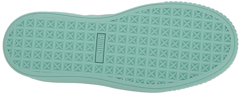 PUMA Women's Basket Platform Reset WN's Fashion Sneaker B01J5NTKFS 7 M US Aruba Blue-aruba Blue