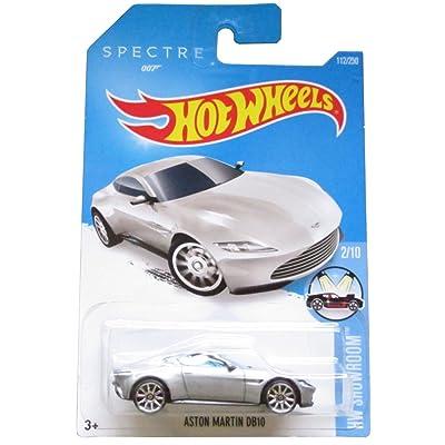Hot Wheels 2016 HW Showroom James Bond 007 Spectre Aston Martin DB10 112/250, Silver: Toys & Games