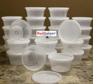 Reditainer - 12 Ounce Deli Food Saver/Meal Prep Containers - Package of 40