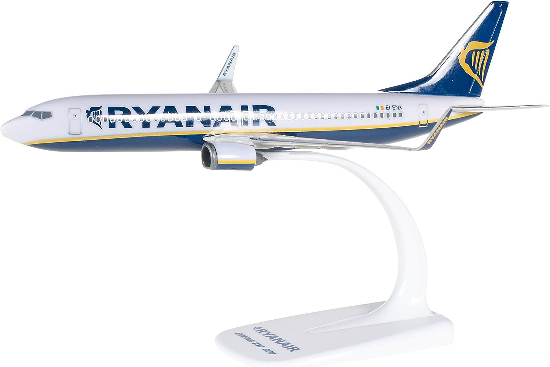 Ryanair Boeing 737-800 FlugzeugModell im Maßstab 1:200 Sammlerstück B737  EI-DAZ