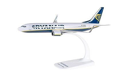 Amazon.com: Herpa 609395 Ryanair Boeing 737 – 800 1: 200 ...