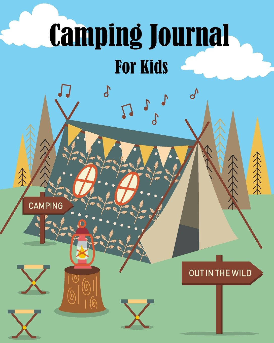 Camping Journal For Kids: Campers Prompts Log Book Children Journal Writing Adventure Activity Record Vacation Notebook  Draw your Favorite Camping ... Inches (Kids Writing and Drawing) (Volume 1) PDF