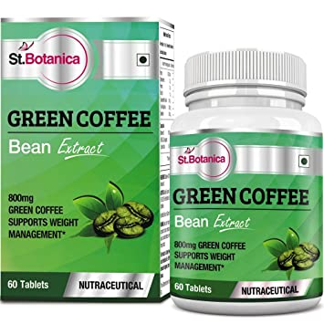 Buy sttanica green coffee bean extract with chlorogenic acid sttanica green coffee bean extract with chlorogenic acid 800 mg 60 tablets fandeluxe Choice Image