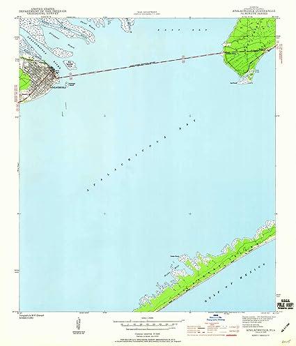 Amazon.com : YellowMaps Apalachicola FL topo map, 1:24000 ... on map of port saint joe florida, map of punta rassa florida, map of indian creek florida, map of greenville florida, map of big coppitt key florida, map of ochlockonee river florida, map of st. lucie county florida, full large map of florida, map of cedar key florida, map of chokoloskee florida, map of st. cloud florida, map of south carolina florida, map of st teresa florida, map of texas florida, map of florida panhandle, map of micco florida, map of hypoluxo florida, map of ponce de leon florida, map of alys beach florida, map of sopchoppy florida,