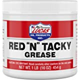 """Lucas Oil Red """"N"""" Tacky Grease, 1 Pound Tub, 16 Ounces (LUC10574)"""