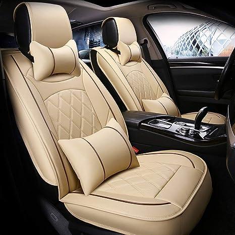 Coprisedili AUTO BEIGE UNIVERSALE PER BMW SERIE 1 Coprisedili Coprisedile Seggiolino Auto Set