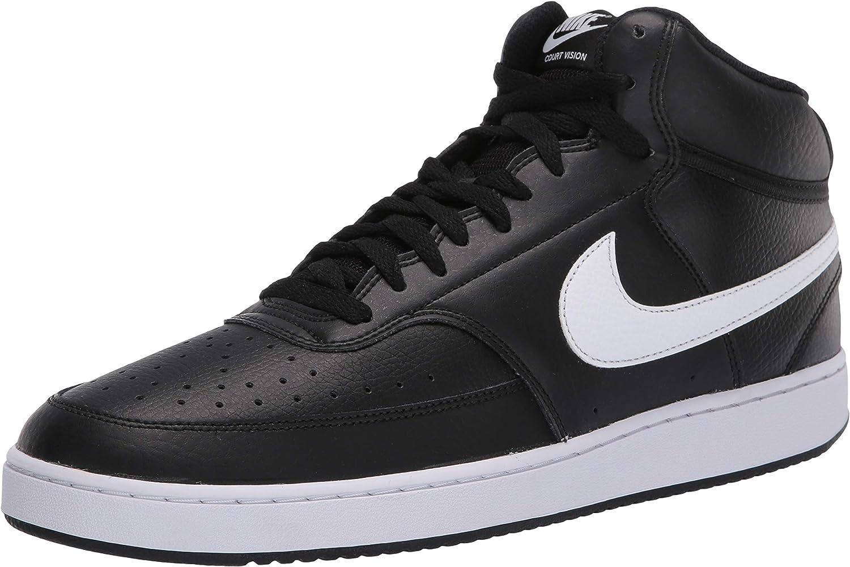NIKE Court Vision Mid, Zapatos de Baloncesto Hombre