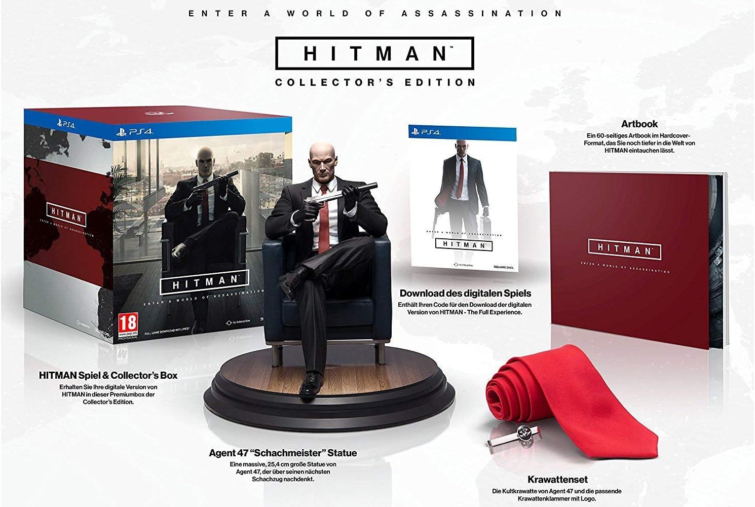 Hitman Collectors Edition (PS4) by Square Enix: Amazon.es ...