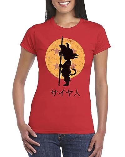 164-Camiseta Mujer - Looking for the Dragon Balls (ddjvigo)