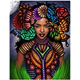 Full Drill 5D Diamond Painting Kit for Adults, BENBO 15.8x11.8In DIY Diamond Painting by Numbers Diamond Embroidery Kit…