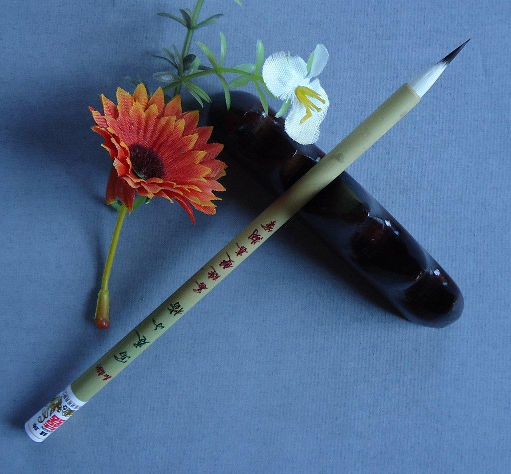 0.5x2.2cm High Grade Rabbit Hair Shuangxi Chinese Calligraphy and Painting Brush