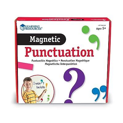 Learning Resources- Puntuación magnética, Color (LSP0345-UK): Juguetes y juegos