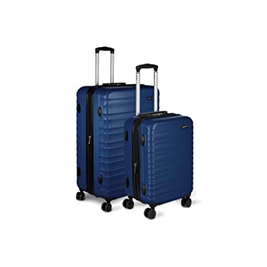AmazonBasics Hardside Spinner Luggage - Multi-Piece Set