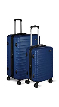 3e855126128e Amazon.com  AmazonBasics Hardside Spinner Luggage - 2 Piece Set (20 ...