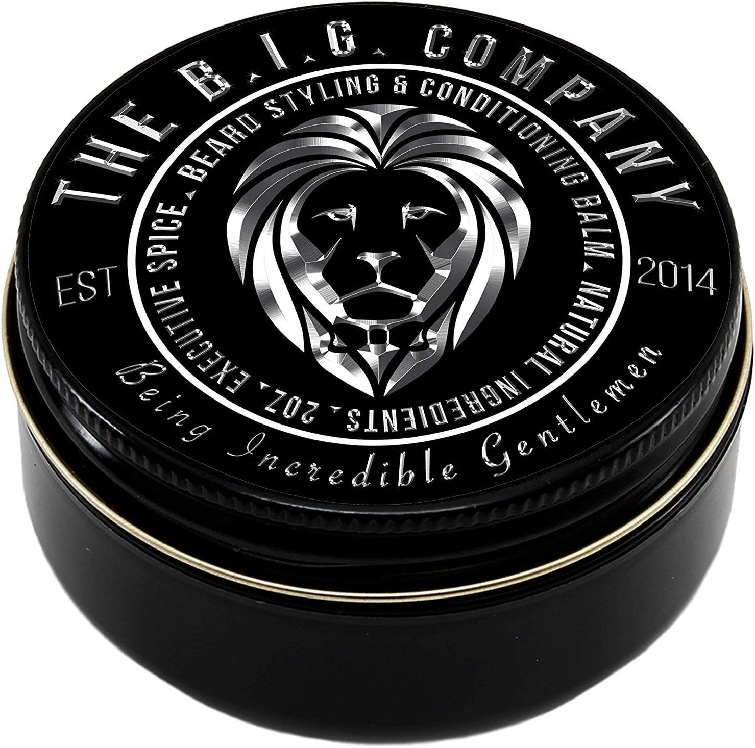 The B.I.G. Company - Beard Balm - Executive Spice Scent - 60 ml