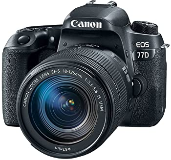 Canon EOS 77D 24.2MP Digital SLR Camera