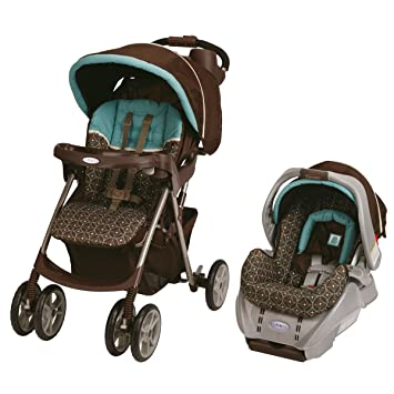 Graco Spree Classic Connect Travel System And SnugRide Car Seat Ollie Discontinued