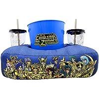 Almofada Porta Pipoca com Balde e Copo Cavaleiros de Ouro