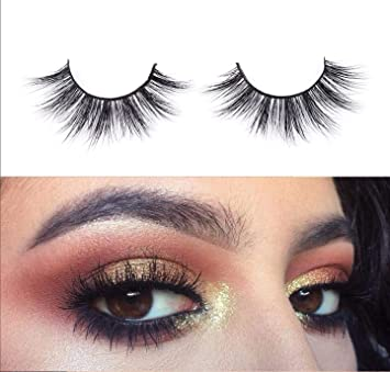 e9af944fd48 Amazon.com : 3D Mink Lashes 100% Siberian Handmade Long Mink Fur False  Eyelashes Reusable Fake Lashes Strip 1 Pairs Pack by EYEMEI : Beauty