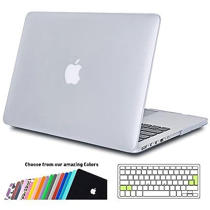 Funda MacBook Pro 15 pulgada,iNeseon Ultra Delgado Carcasa Dura Shell Case con Cubierta del Teclado Transparente EU Layout para Apple MacBook Pro 15.4 ...