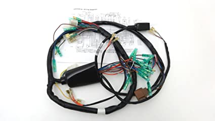 amazon com main wiring harness for 1977 kawasaki kz1000 a1 automotive main wiring harness for 1977 kawasaki kz1000 a1