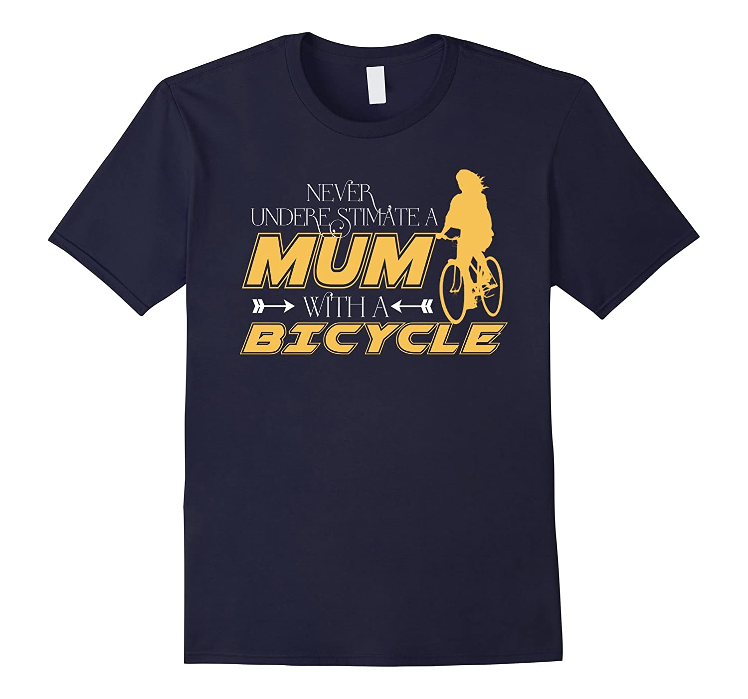 Mum With A Bicycle t-shirt-TH