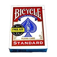 Bicycle Standard Index Playing Cards - Red