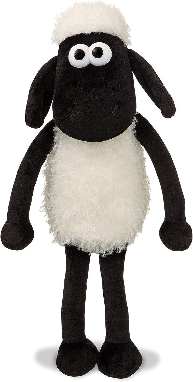 Shaun the Sheep 61173 - Peluche de Peluche (20,3 cm), Color Blanco y Negro, 8 Pulgadas, Apto para Adultos y niños