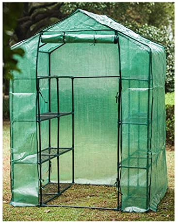 Invernaderos Jardin De Efecto Invernadero De Tomate, Gran Tienda De Efecto Invernadero Hogar, Sala De Crecimiento De Las Plantas, Que Se Utiliza for El Balcón Jardín, 55.11in X 27.55in X 76.37in: Amazon.es: