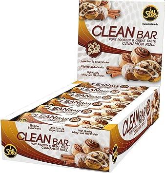 ALL STARS Cleanbar Cinnamon Roll - 18 Barras: Amazon.es ...