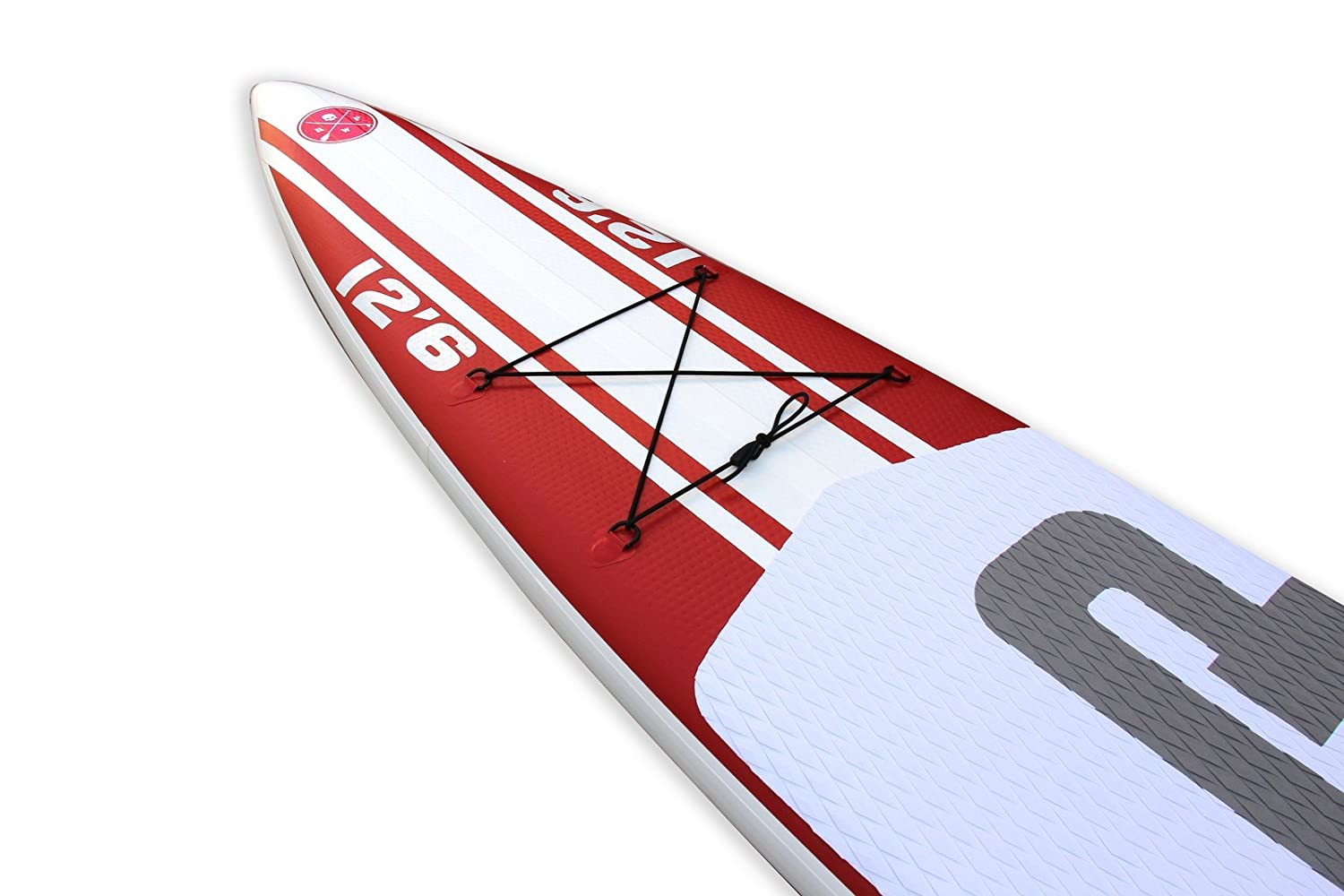 Redwood Paddle 12 6 raza inflable SUP Stand Up Paddle Board: Amazon.es: Deportes y aire libre