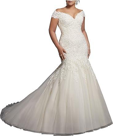 Beauty Bridal V-Neck Off Shoulder Mermaid Wedding Dresses Bride Lace  Applique Bridal Gowns · Women s Off The Shoulder Beaded Satin Prom Dress  Evening ... 3c3c5f81b