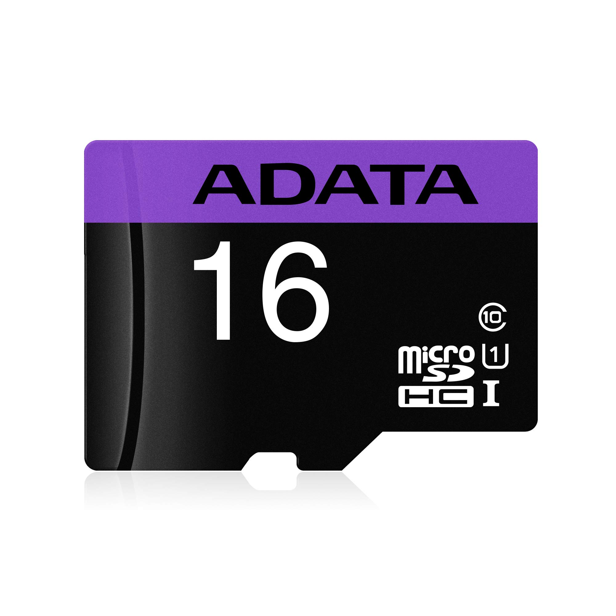 Adata Premier A1 16GB Class 10 UHS-I microSD Card | MicroSDHC/SDXC with Speed up to 100MB/s | V10 Series Memory Card | AUSDH16GUICL10A1-R | Purple (B078KWWCTZ) Amazon Price History, Amazon Price Tracker