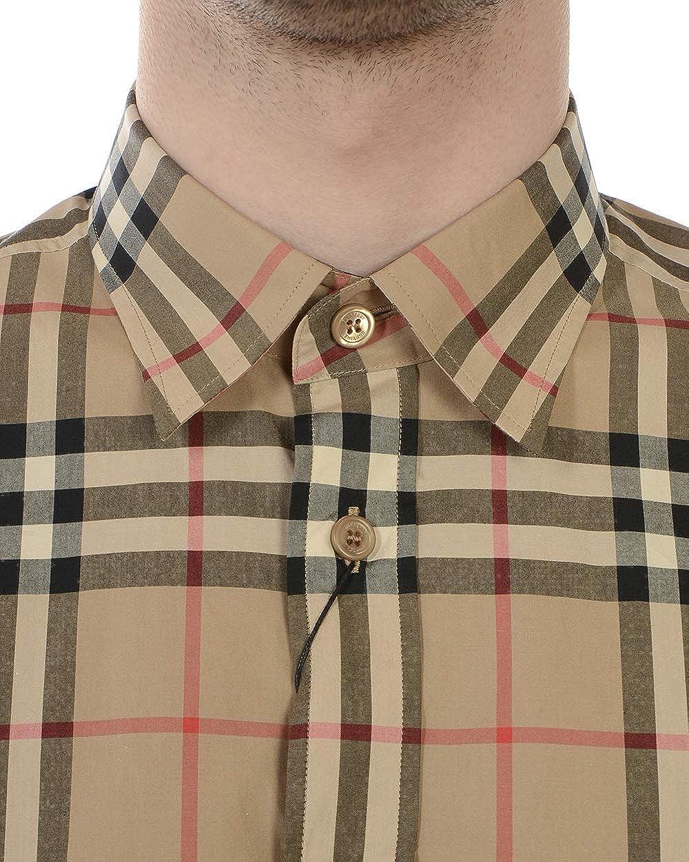 BURBERRY 8020863 8020863 - Camisa para Hombre, Color Beige ...