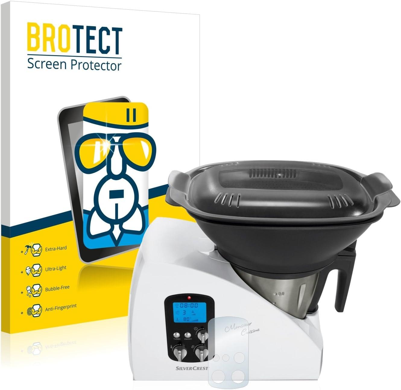 BROTECT Protector Pantalla Cristal Compatible con SilverCrest ...