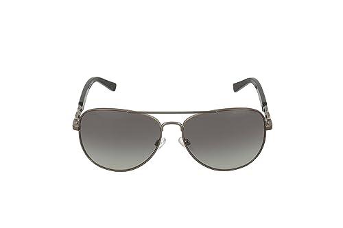 41b14246b25c8 Amazon.com  Michael Kors Fiji Sunglasses MK1003 100211 Gunmetal Grey  Gradient 58 14 135  Michael Kors  Shoes